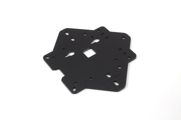 Zebra VESA Mounting Plate - (Black) for Raspberry Pi 3, Pi 2, and Pi B+