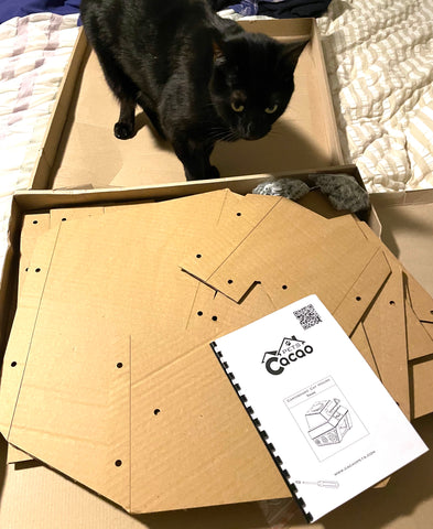 pieces for assembling cat tank