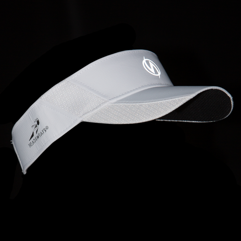 Reflective UltraVisor in White Firenz
