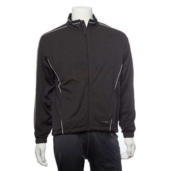 Early Riser Men's Reflective Pullover in Graphite/Fiery Red