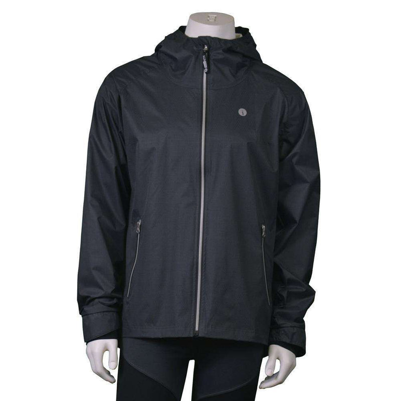 Men's Reflective Softshell Jacket in Black--FINAL SALE