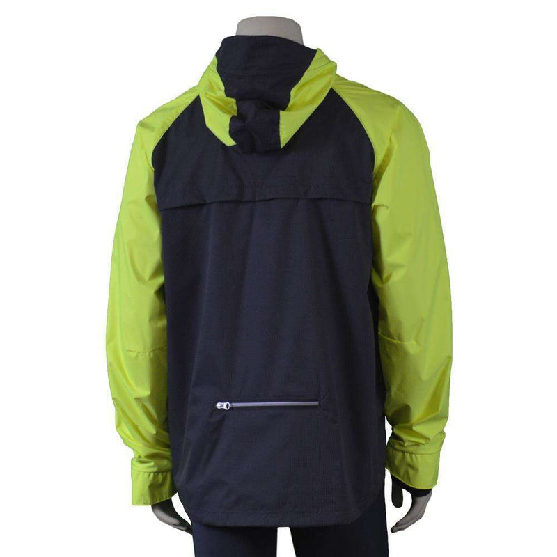 Colorado Waterproof Reflective Men's Jacket in Graphite/Flo Lime