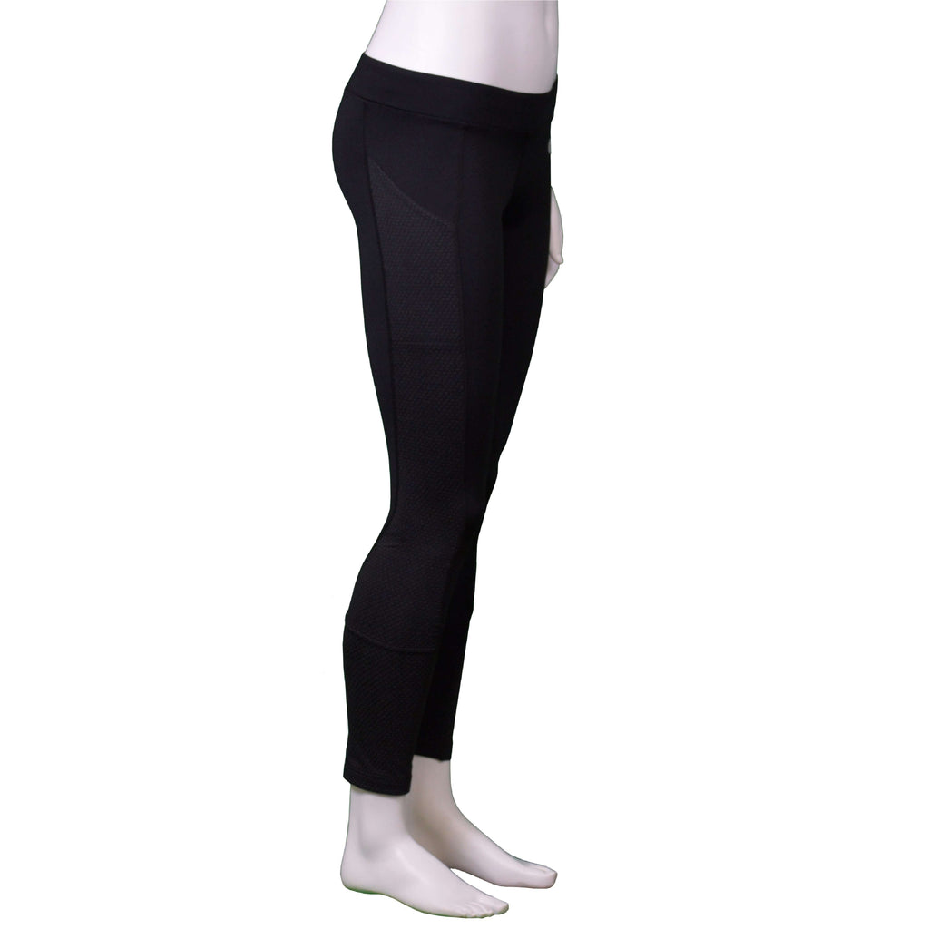 Comet Reflective Women's Running Tight in Black