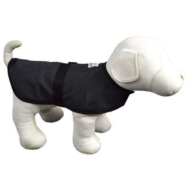 Cordura Reflective Dog Jacket in Charcoal