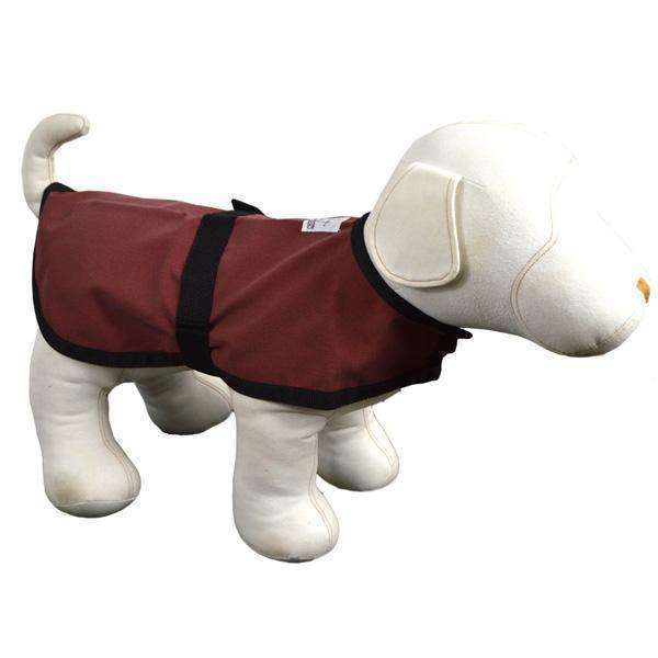Cordura Reflective Dog Jacket in Cranberry