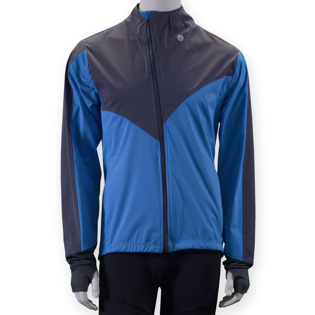 Denver Men's Softshell Jacket in Hawaiian Blue /Graphite