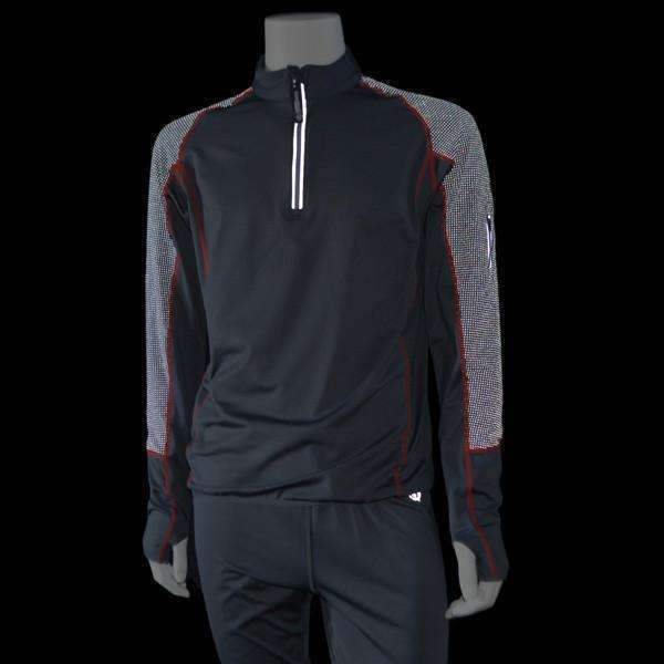 Early Riser Men's Reflective Pullover in Graphite/Black