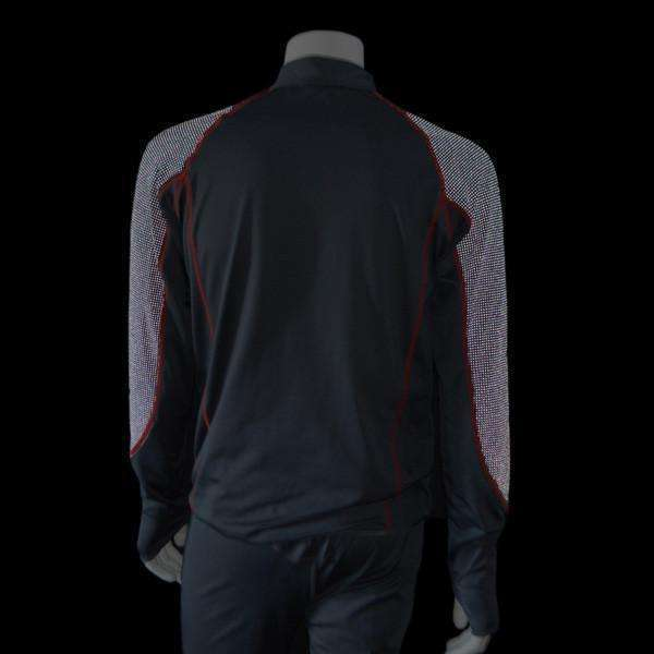 Early Riser Men's Reflective Pullover in Graphite/Black - FINAL SALE