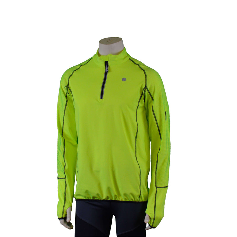 Early Riser Reflective Men's Pullover in Flo Lime