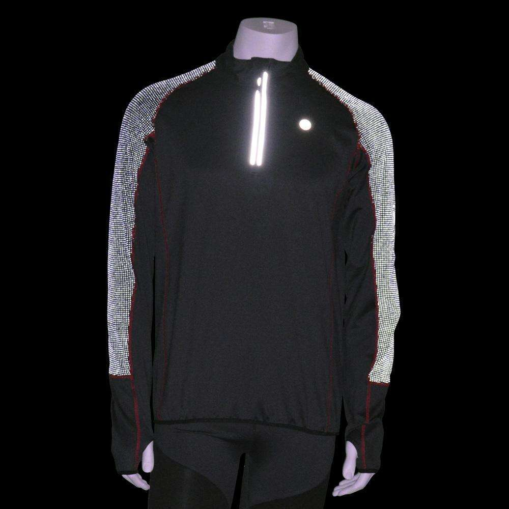 Early Riser Reflective Men's Pullover in Graphite/Black