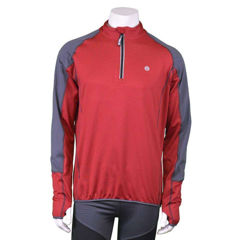 Early Riser Reflective Men's Pullover in Red