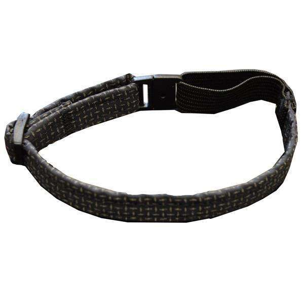 Glow Cat Adjustable Reflective Cat Collar in Black