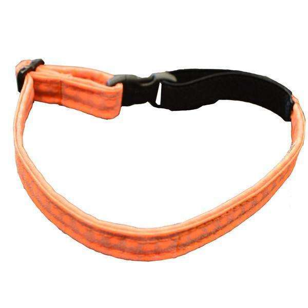 Glow Cat Adjustable Reflective Cat Collar in Orange