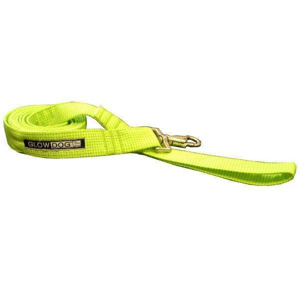 Glow Dog 6' Reflective Leash-Neon Green