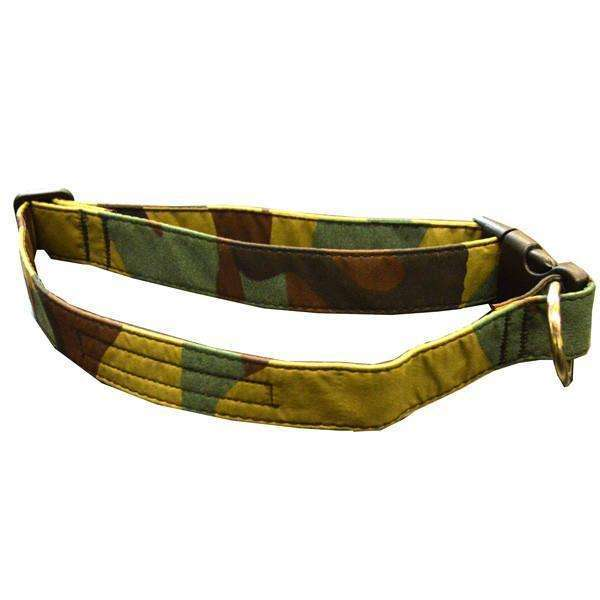 Glow Dog Adjustable Reflective Dog Collar in Camo