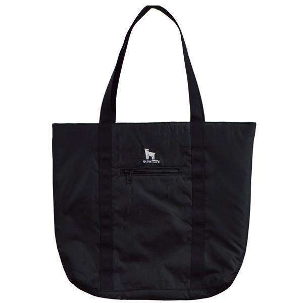 GlowDog Large Reflective Tote Bag in Black