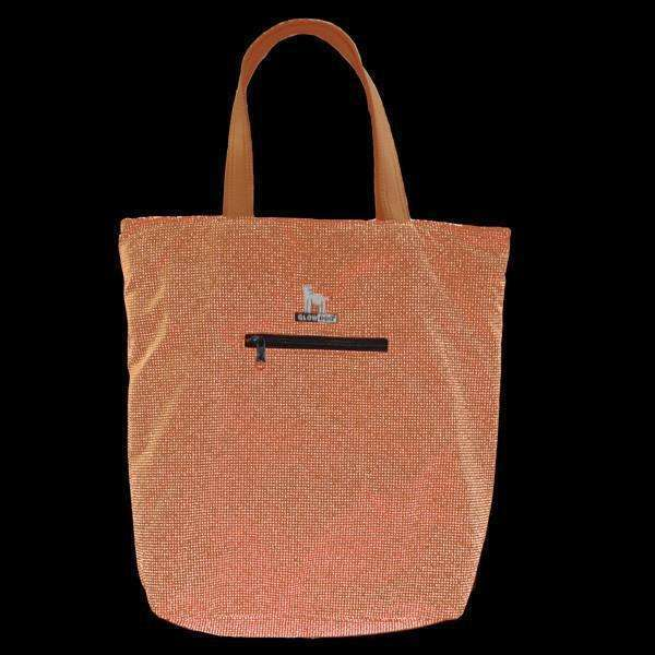 GlowDog Small Reflective Tote Bag in Safety Orange