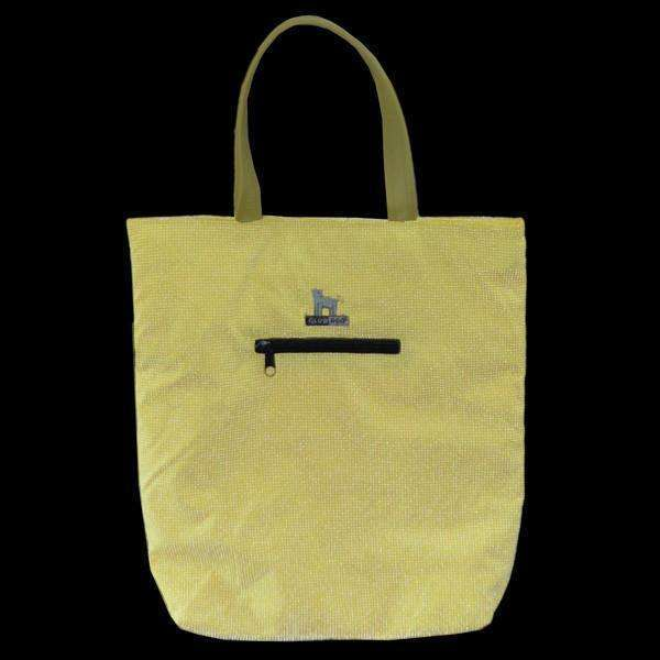 GlowDog Small Reflective Tote Bag in Yellow