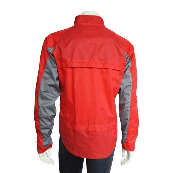 Hartford Reflective Men's Jacket in Red/Silver