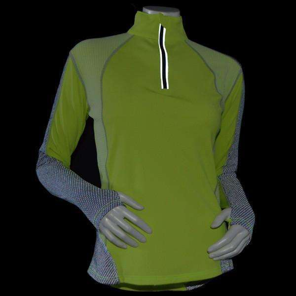 Inspire Reflective Women's Pullover in Flo Lime/Graphite
