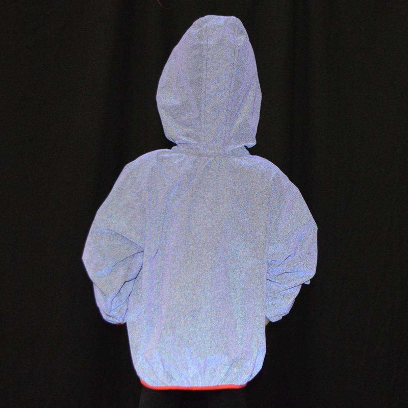Kids BrightLITE Reflective Windbreaker in Purple Haze