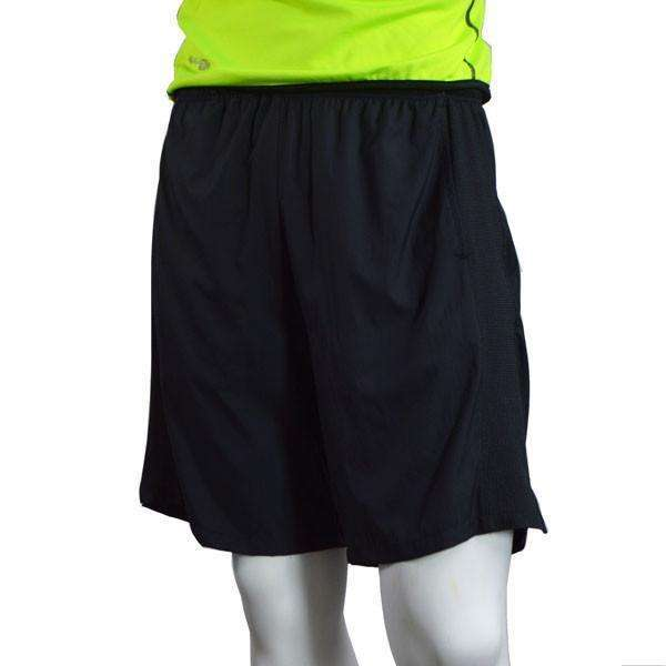 Men's Reflective Endeavor Long Running Short in Black