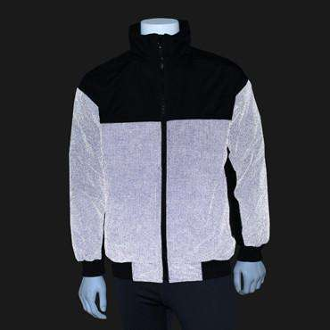 Men's Reflective Flurry Jacket in Black