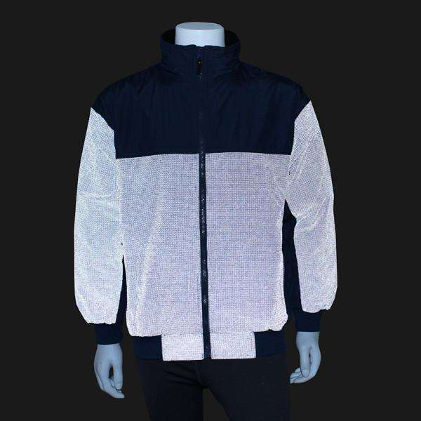 Men's Reflective Flurry Jacket in Navy