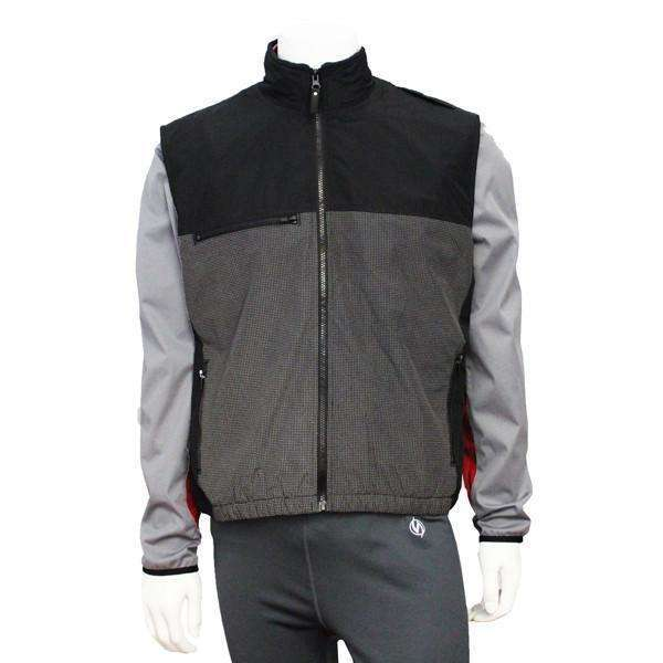 Men's Reflective Flurry Vest in Black