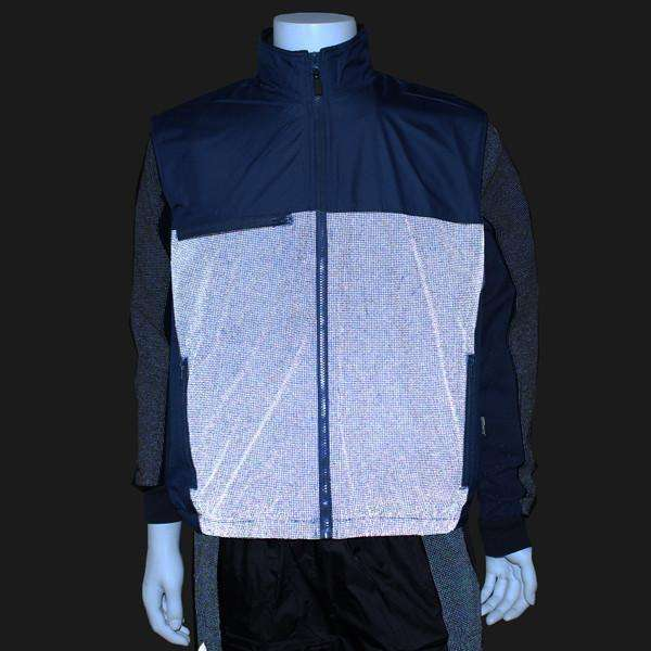 Men's Reflective Flurry Vest in Navy