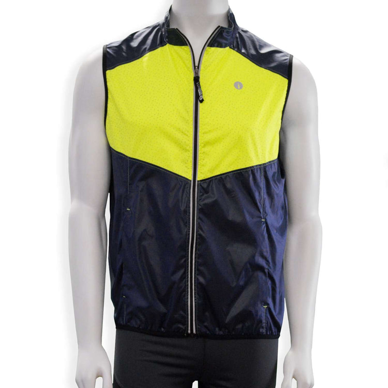Women's Newport Packable Reflective Vest in Beet Root