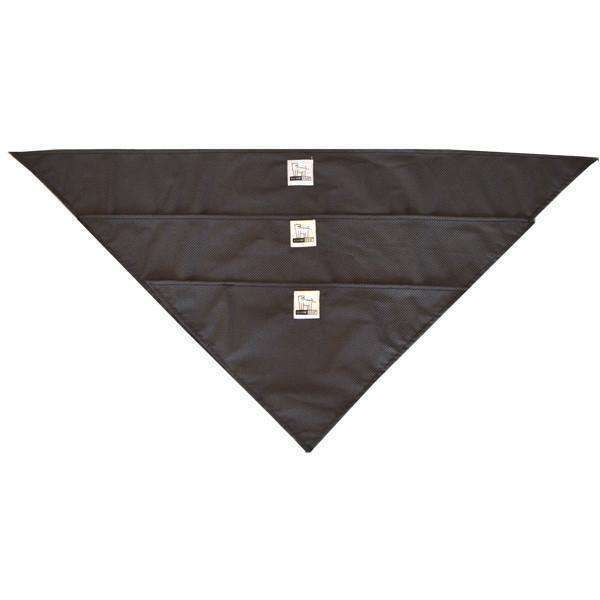 Reflective Dog Bandana in Black/Roma