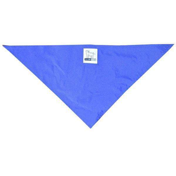 Reflective Dog Bandana in Blue Roma