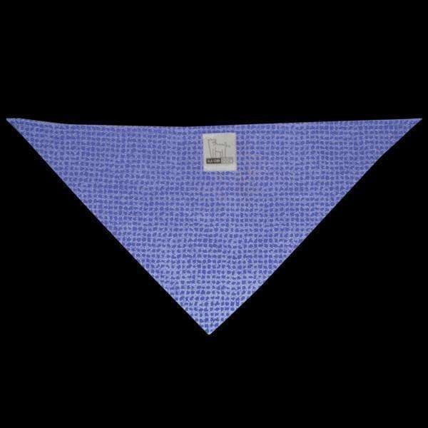Reflective Dog Bandana in Blue Safety Net