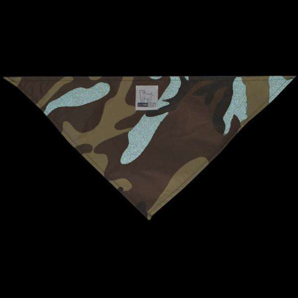 Reflective Dog Bandana in Camo--CLEARANCE