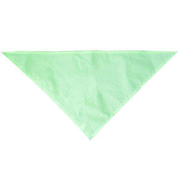 Reflective Dog Bandana in Flo. Green Safety Net