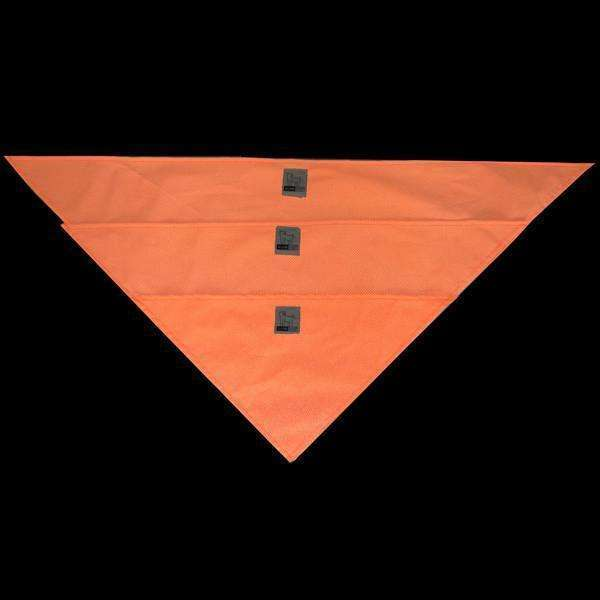 Reflective Dog Bandana in Orange/Roma