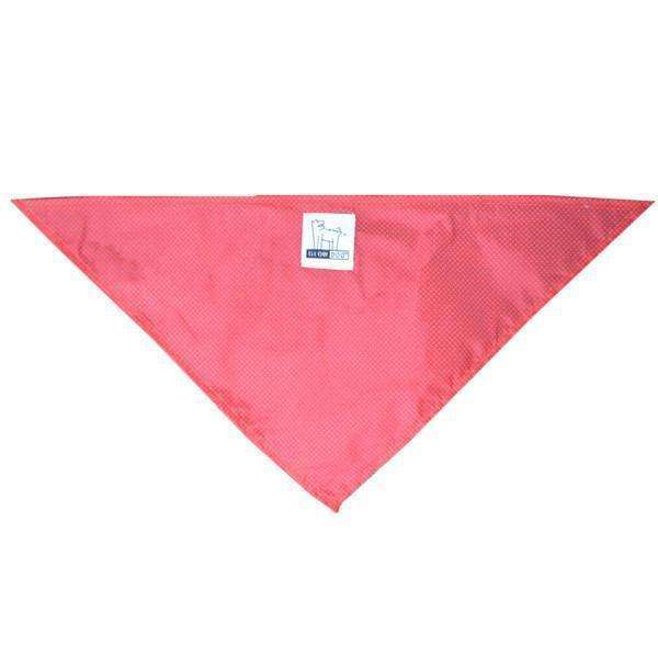 Reflective Dog Bandana in Red/Roma