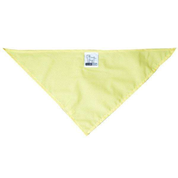 Reflective Dog Bandana in Yellow Roma