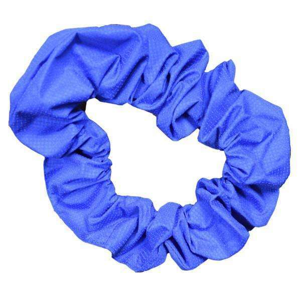 Reflective Dog Scrunchie in Blue Roma
