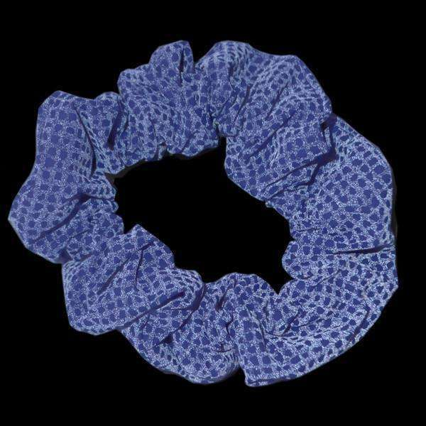 Reflective Dog Scrunchie in Blue Safety Net