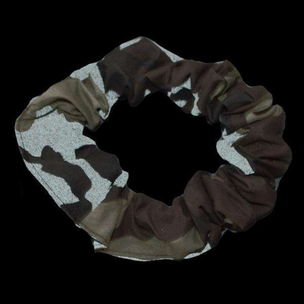 Reflective Dog Scrunchie in Camo