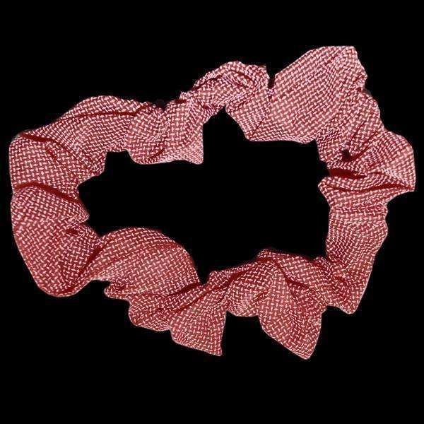 Reflective Dog Scrunchie in Red Roma