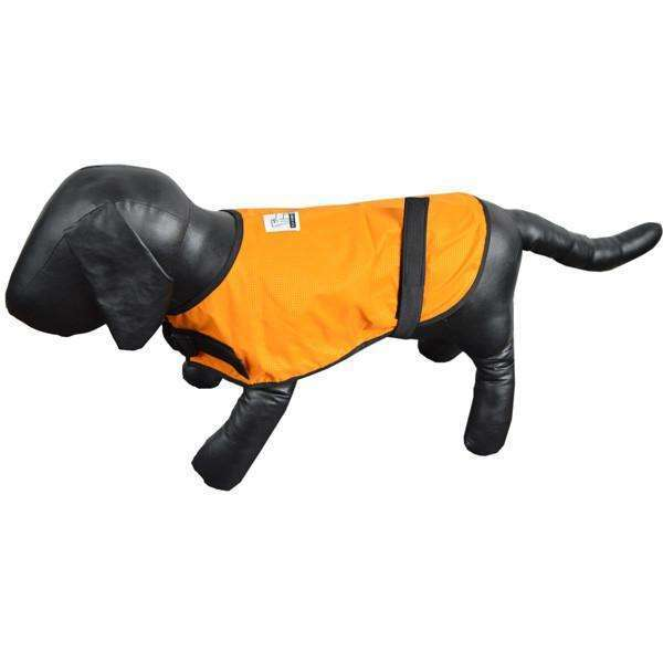 Reflective Dog Vest in Orange/Roma