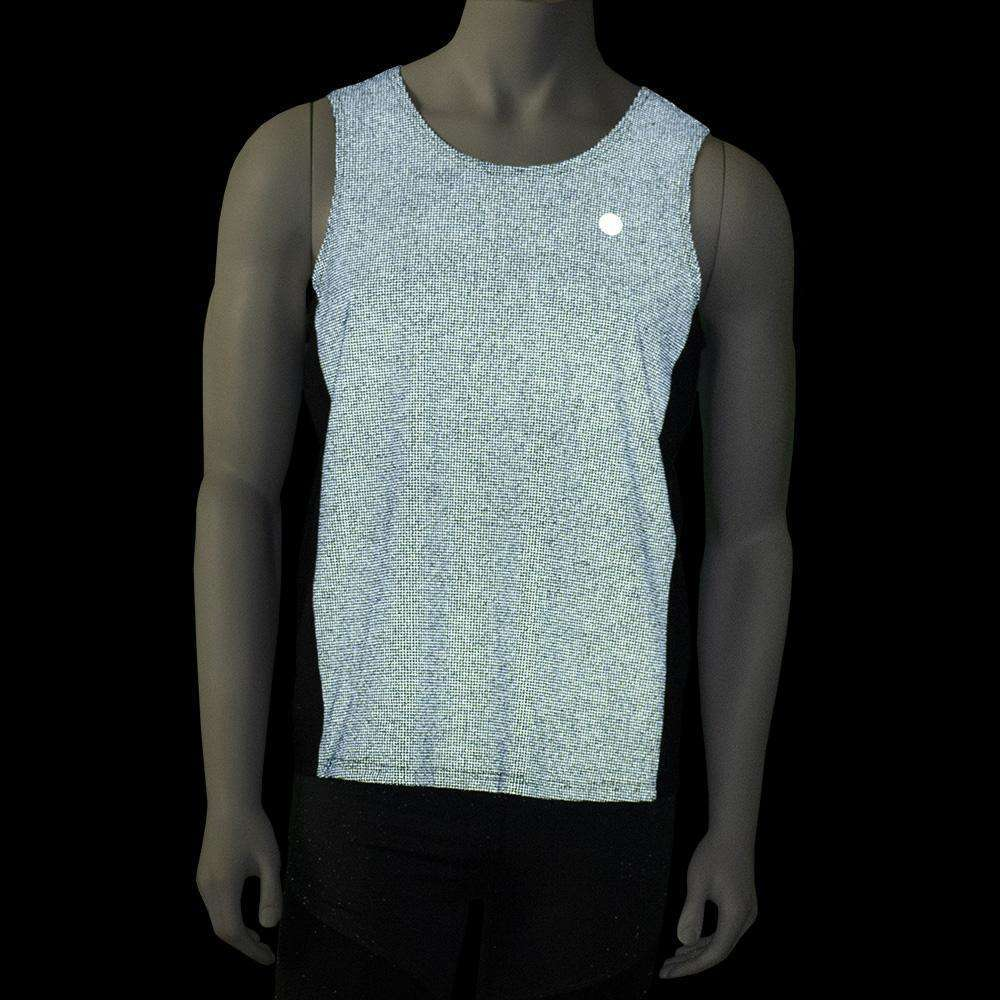 Reflective Men's Endeavor Tank in Graphite