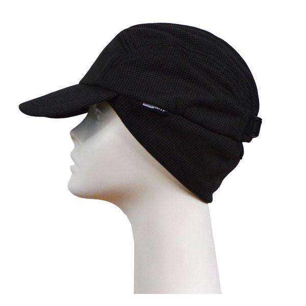 Reflective Thermafleece Cap in Black