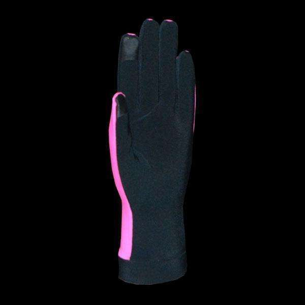 Reflective Unisex Velocity Mitten in Hot Pink