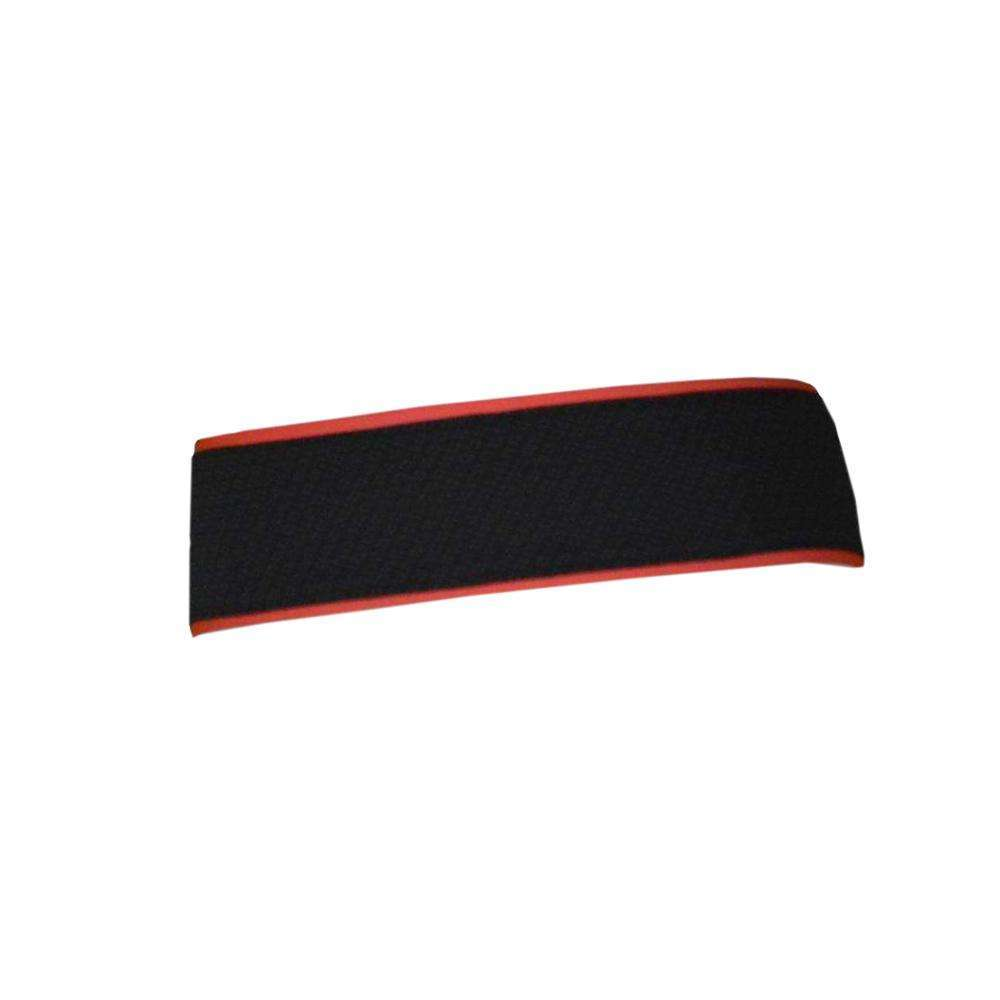 REVERSIBLE! Reflective Stretch Eclipse Headband in Coral Glo/Black