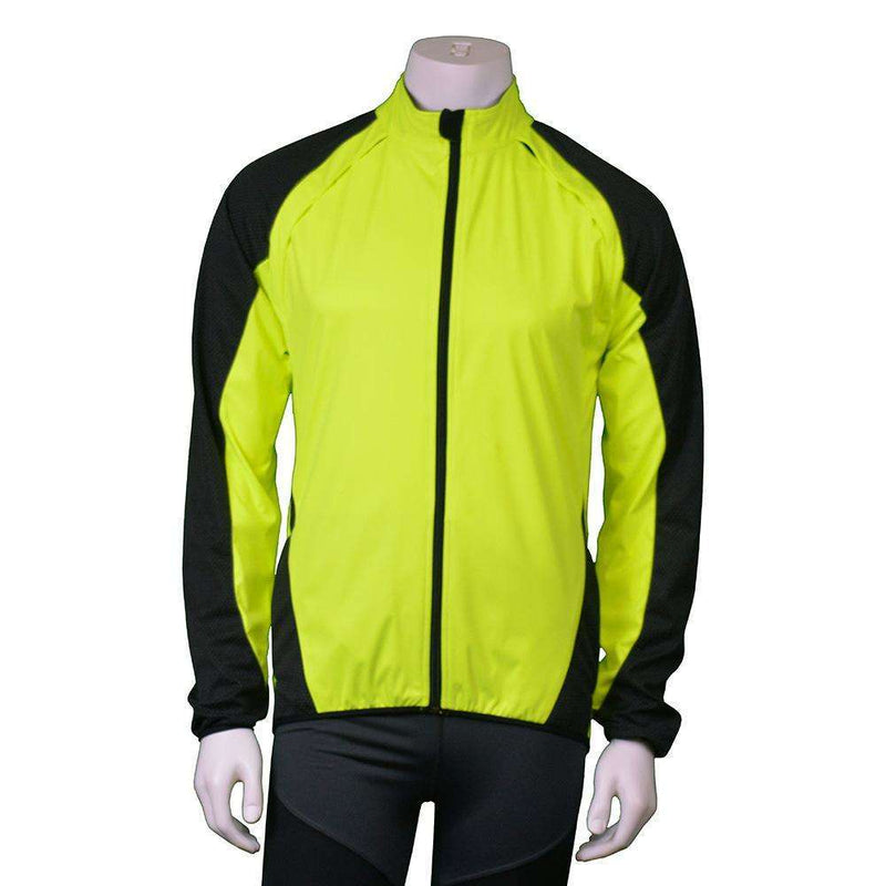Denver Men's Softshell Jacket in Flo Lime/Graphite