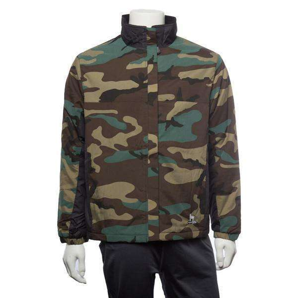 Unisex Reflective Fleece Lined Camouflage Jacket